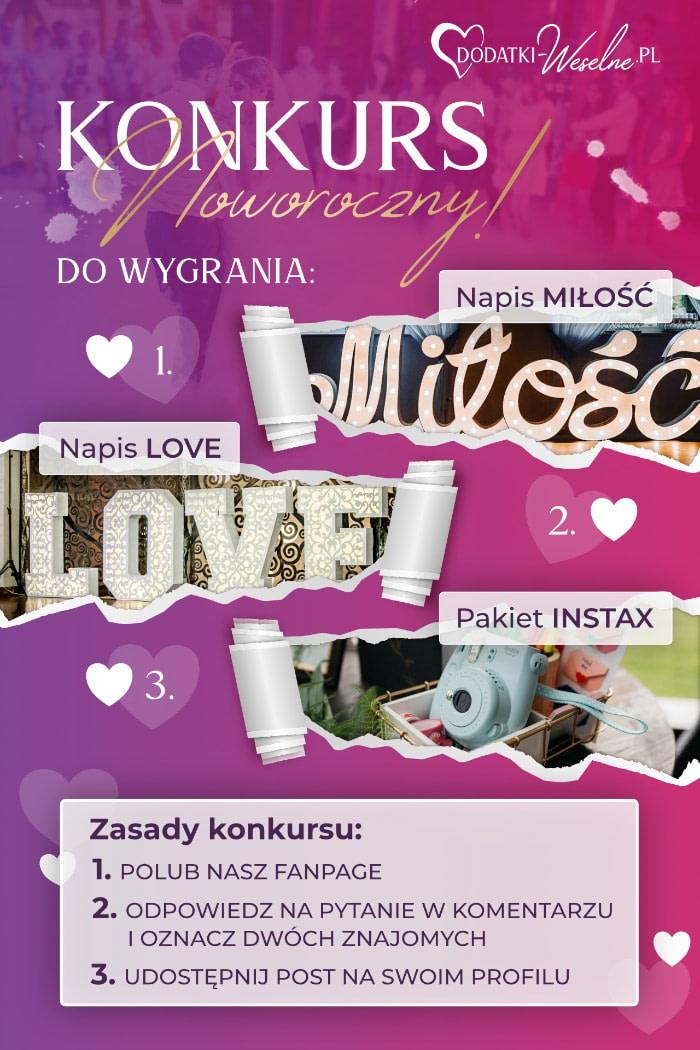 Konkurs dodatki-weselne.pl
