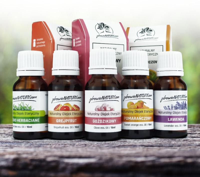 opakowania olejków zapachowych